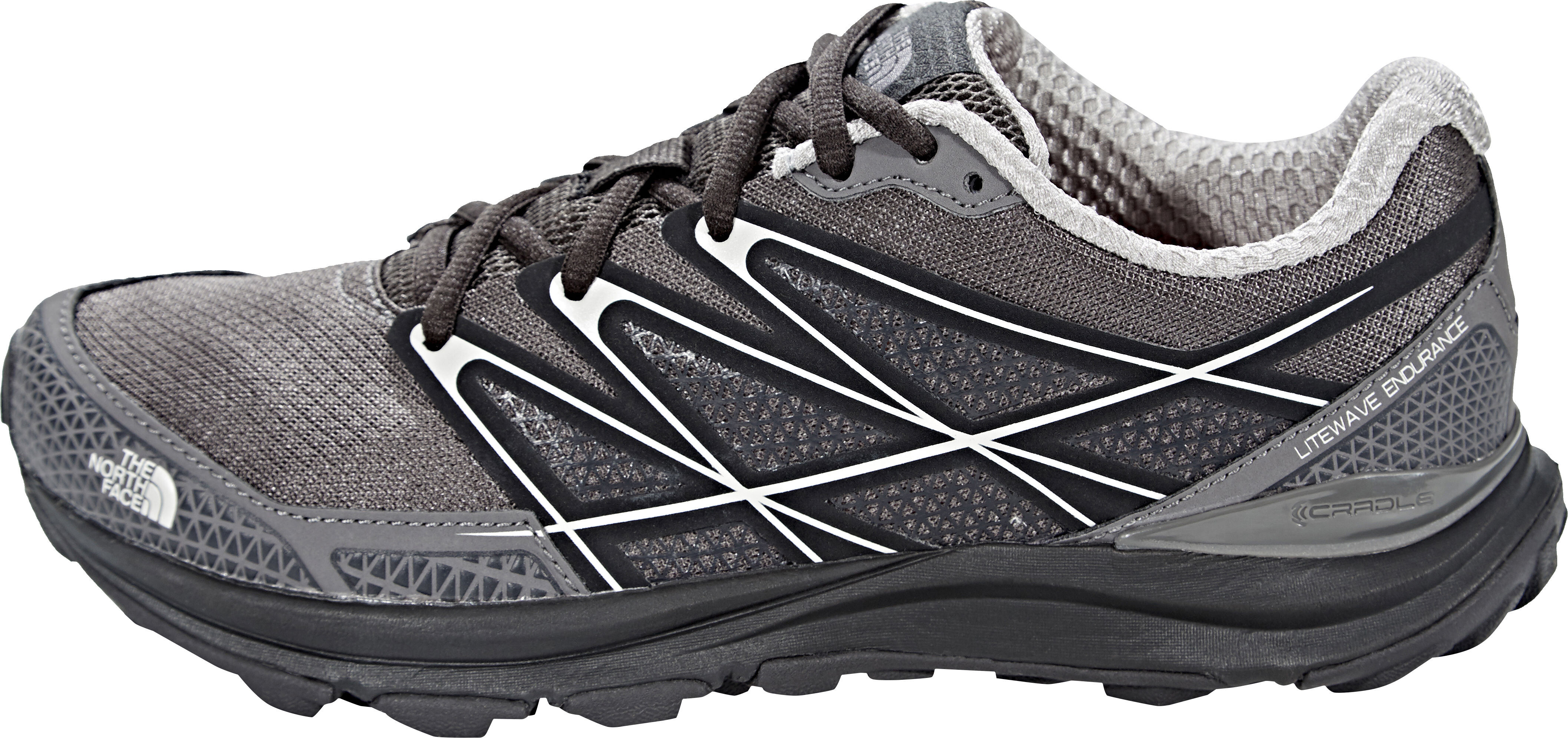 05f7fc65fb0 The North Face Litewave Endurance Løbesko Damer, dark gull grey/foil grey